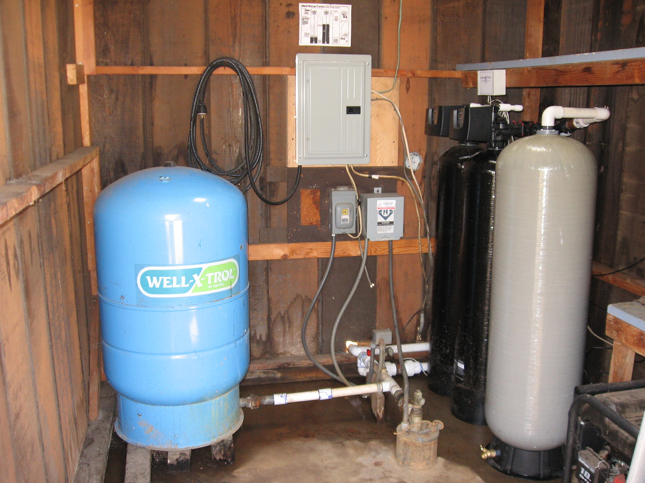Well Water Whole Home Filtration System